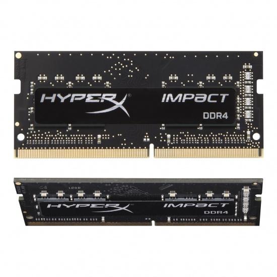 32GB Kingston Technology Fury Impact K2 3200MHz DDR4 SO-DIMM Dual Memory Kit (2 x 16GB) Image