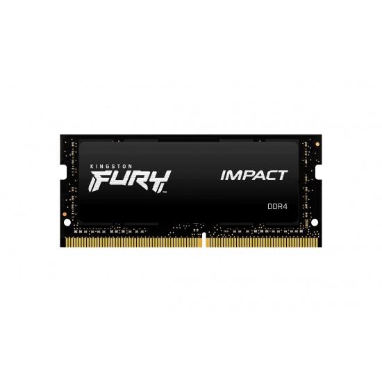 16GB Kingston Technology FURY Impact 2666MHz DDR4 SO-DIMM Memory Module (1 x 16GB) Image