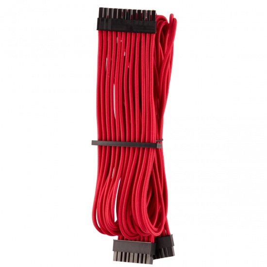 2FT Corsair ATX 24-Pin Male Internal Power Cable - Red Image