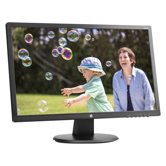 HP 24-inch Full HD TN Matt Black Computer Monitor Image