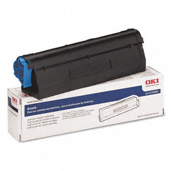 OKI Black Laser Toner Cartridge for Oki Data B4600, B4600N, B4600N W/Postscript 3, B4400, B4400N, B4500 Image