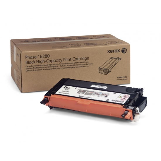 Xerox Phaser 6280 High Capacity Black Toner Cartridge (7,000 Pages) Image
