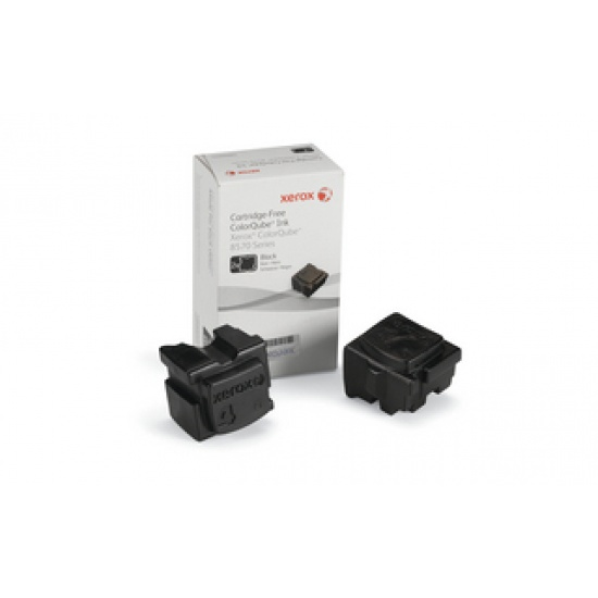 Xerox Colorqube 8570 Solid Ink Sticks (2 Pack) 108R00929 Black  Image