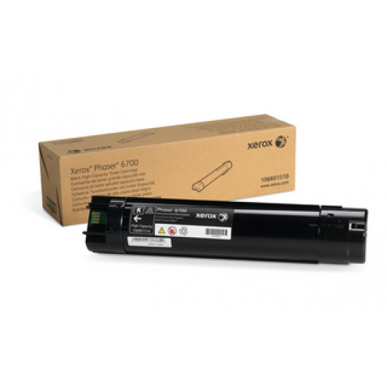 Xerox High Capacity Toner Cartridge Phaser 6700 Black - 18000 Page Yield Image