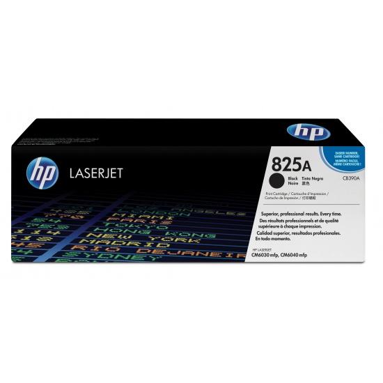 HP LaserJet Toner Cartridge - 825A - CB390A - Black - 19500 Page Yield Image