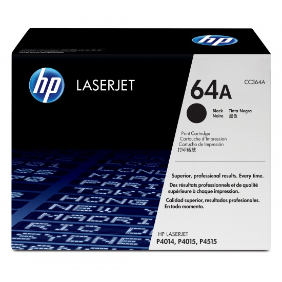 HP LaserJet Toner Cartridge - CC364A - Black - 10000 Page Yield Image