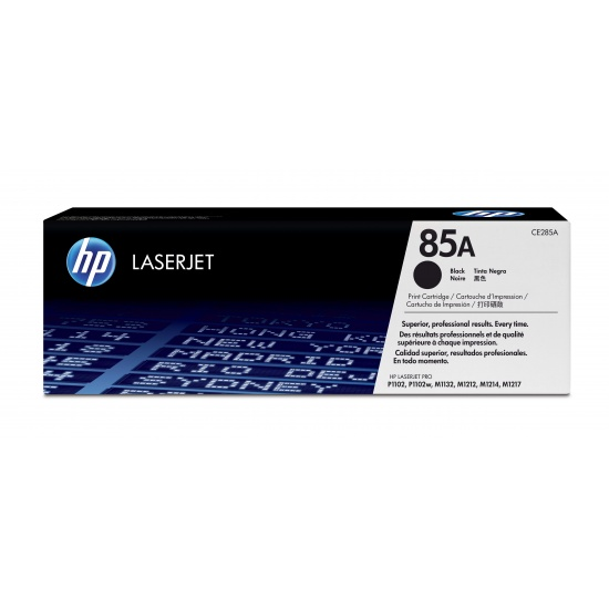 HP LaserJet Toner Cartridge - 85A - CE285A - Black - 1600 Page Yield Image