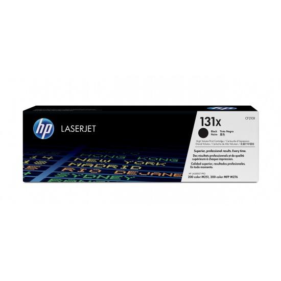 HP LaserJet Toner Cartridge - CF210X - Black - 2400 Page Yield Image