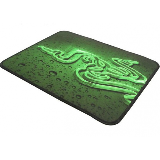 Razer Goliathus Mouse Pad - Small RZ02-01070100-R3M1 Black and Green Image