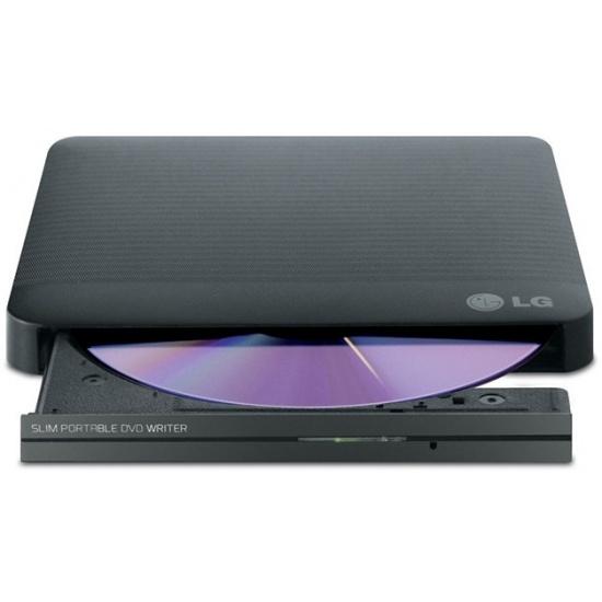 LG External Slim DVD-RW GP50NB40 8X Black Image
