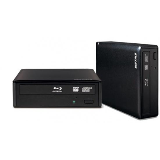 Buffalo MediaStation Blu-Ray RW - BRXL-16U3-EU - Black Image