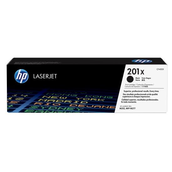 HP LaserJet Toner Cartridge CF400X 201X - Black - 2800 Page Yield Image