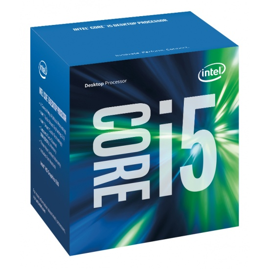 Intel Core i5-6600K 3.5GHz Skylake CPU LGA1151 Desktop Cache Boxed Image
