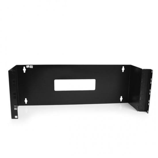 StarTech 4U 19-Inch Hinged Wall Mounting Bracket for Patch Panels Image