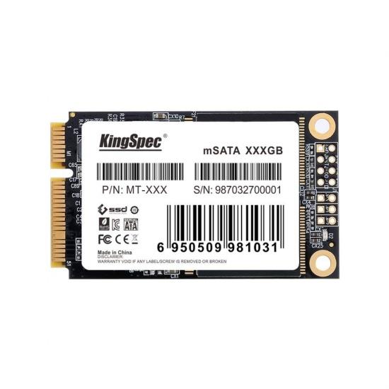 64GB KingSpec mSATA MT-64 SATA 6Gb/s Solid State Disk Image