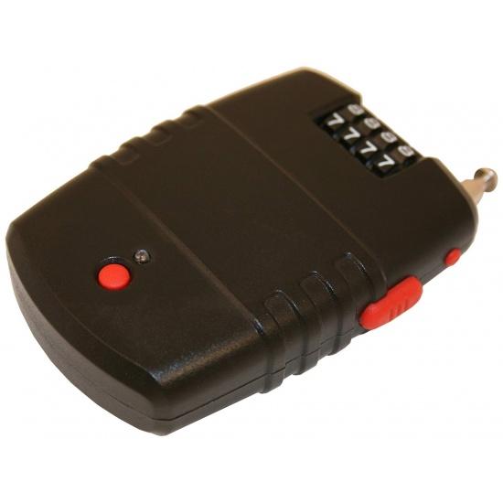 EyezOff Retractable Cable Lock, 4-Dial Lock, Motion Sensor Alarm (dia 2.0mm x 60cm) incl. batteries Image