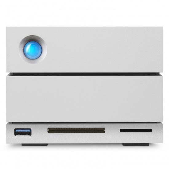 12TB LaCie 2Big Dock RAID Thunderbolt 3 7200RPM External Hard Drive Image