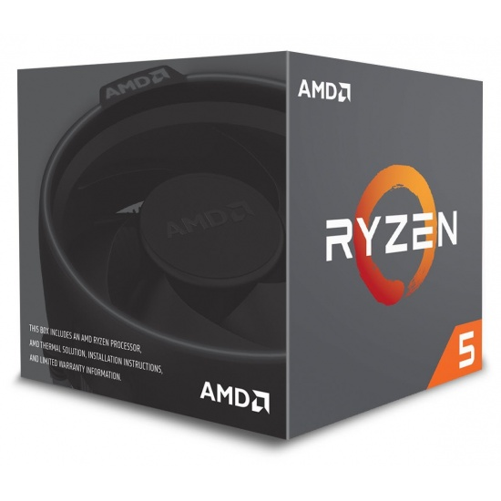 AMD Ryzen 5 2600 Six-Core 3.4GHz Socket AM4 19MB Cache - Boxed Image