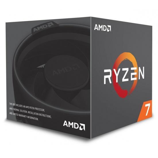 AMD Ryzen 7 2700X Eight-Core 3.7GHz Socket AM4 16MB - Boxed Image