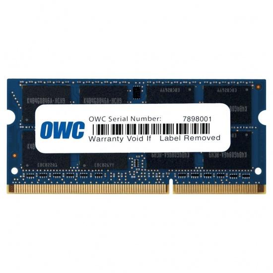 8GB OWC DDR3L SO-DIMM PC3-12800 1600MHz CL11 Single Module Image