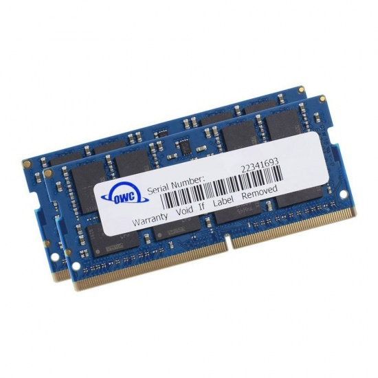 32GB OWC PC3-12800 DDR3 1600MHz SO-DIMM 204 Pin CL11 Memory Upgrade Kit  (2x 16GB) Image