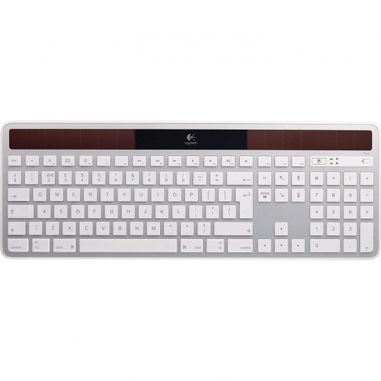Logitech K750 Solar Powered RF Wireless Keyboard for Apple Mac Image