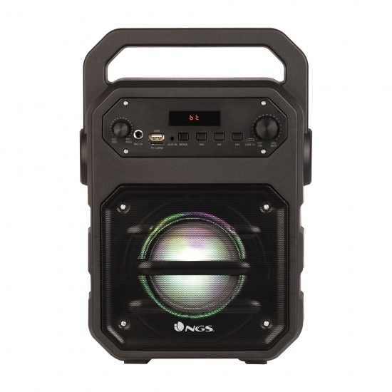 NGS 20W Roller Drum BT Speaker with FM Radio, Aux Input and MicroSD Slot Image