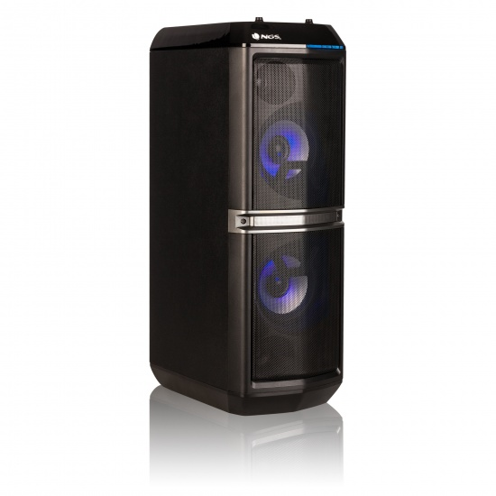 NGS Skyhome 200W Wireless BT Double Subwoofer Sound System Image