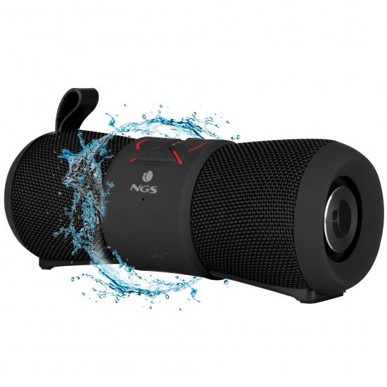NGS 24W Waterproof BT Speaker RollerStream Black Image