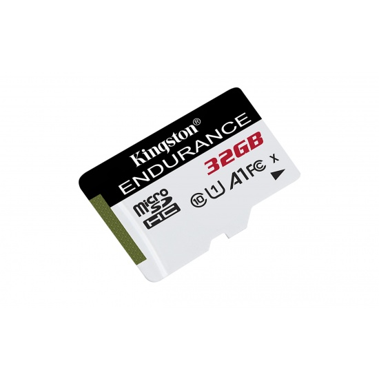 32GB Kingston High Endurance microSD Memory Card CL10 UHS-I Image