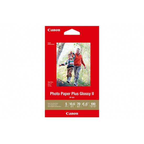 Canon Plus Glossy 4x6 Photo Paper Plus - 100 sheets Image