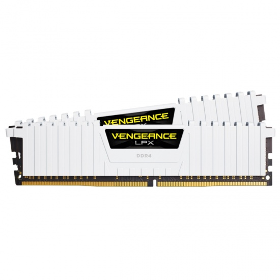 32GB Corsair Vengeance LPX DDR4 3000MHz PC4-24000 CL15 Dual Channel Kit (2x 16GB) White Image