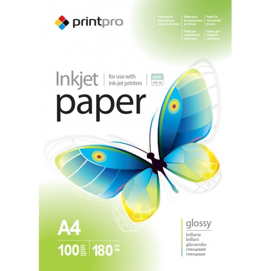 ColorWay Glossy A4 8.5x11 Photo Paper 100 sheets Image