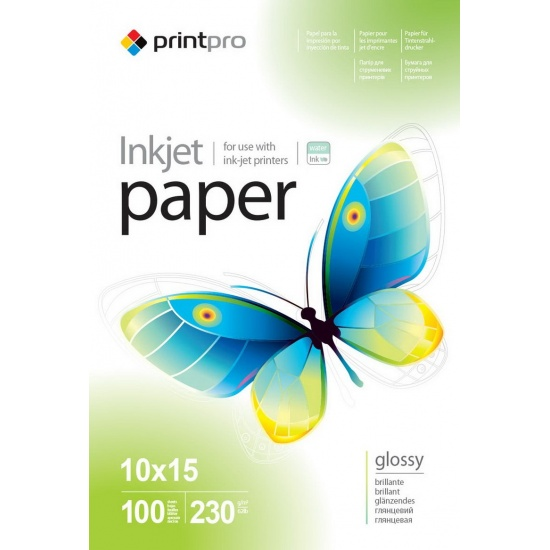 ColorWay Glossy 4x6in (10x15cm) Photo Paper 100 sheets Image