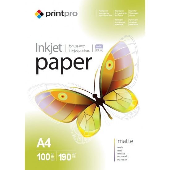 ColorWay Matte A4 8.5x11 Photo Paper 100 sheets Image