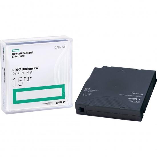 HP LTO Ultrium-7 15TB RW Data Cartridge Tape Image