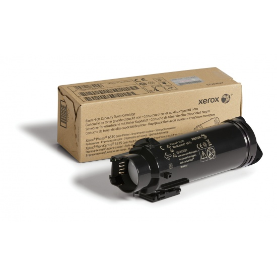 Xerox Phaser 6510/WorkCentre 6515 High Capacity Black Toner Cartridge Image
