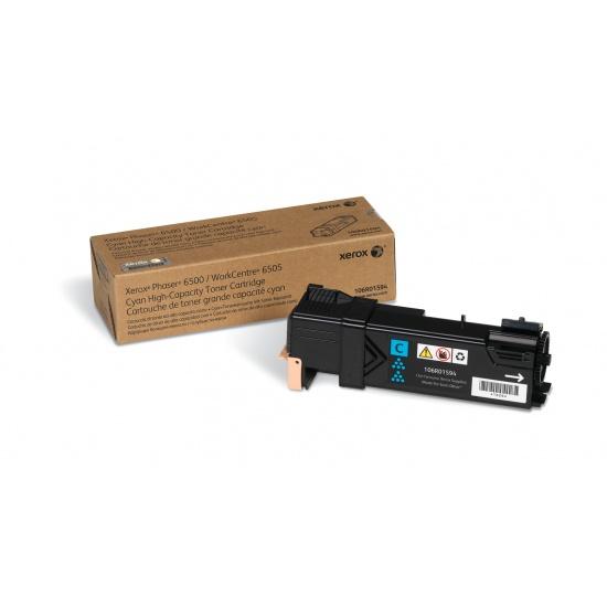 Xerox Phaser 6500/WorkCentre 6505 High Capacity Cyan Toner Cartridge Image