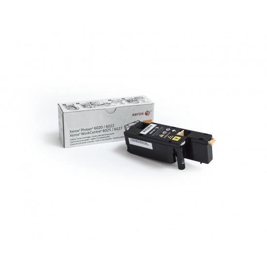 Xerox Phaser 6022/WorkCentre 6027 Yellow Toner Cartridge Image