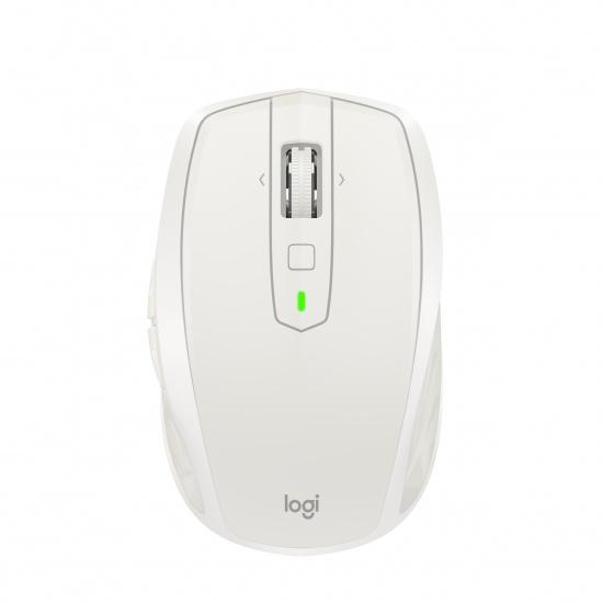 Logitech MX Anywhere 2S Wireless Bluetooth Mouse - Light Grey Image