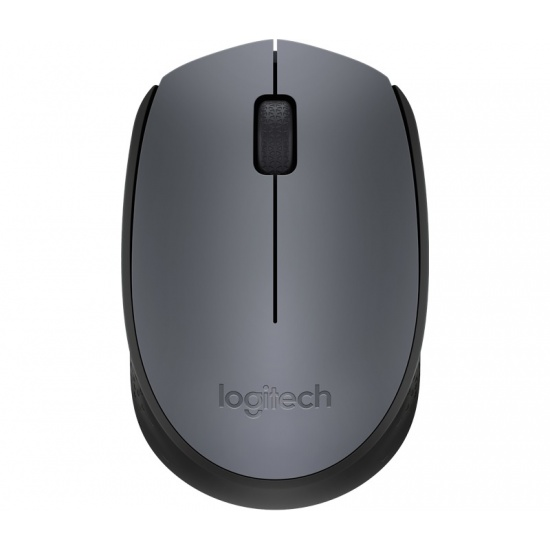 Logitech M170 Wireless USB Mouse - Grey Image
