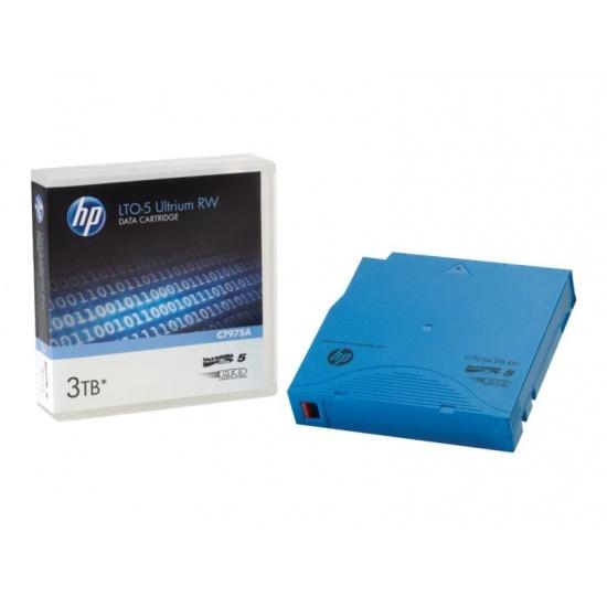 HP LTO Ultrium-5 3TB RW Data Cartridge Tape - Custom Labeled - 20 Pack Image