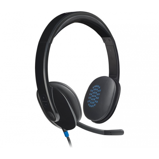 Logitech H540 Wired USB Computer Headset Image