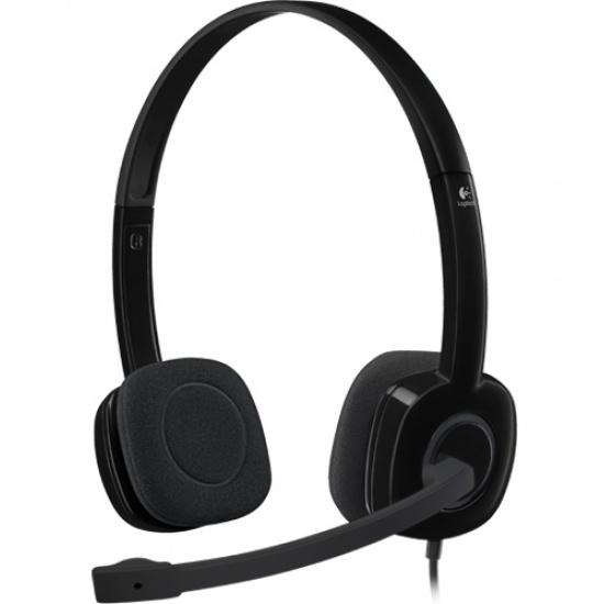 Logitech H151 Wired Audio Jack Headset Image