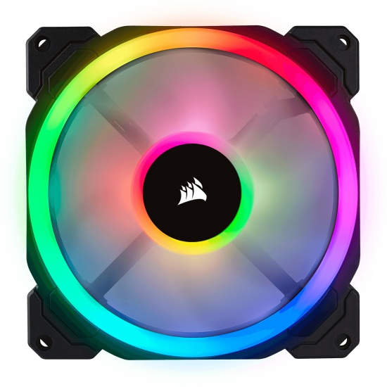 Corsair LL140 PWM RGB 140mm Computer Case Fan Image