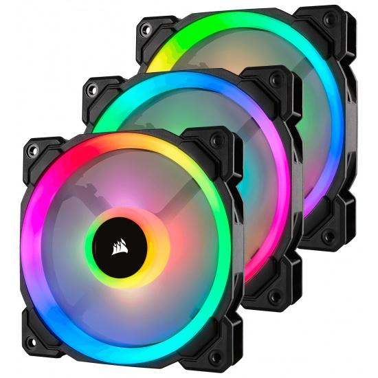 Corsair LL120 PWM RGB 120mm Computer Case Fans - Triple Pack Image
