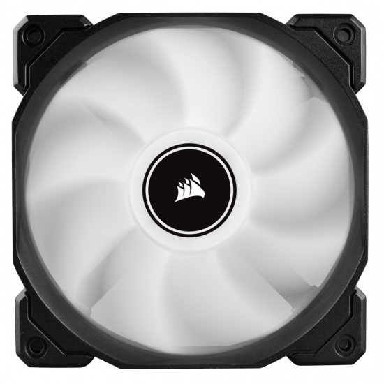 Corsair AF120 Air Series LED Quiet Edition 120mm Computer Case Fan - White Image