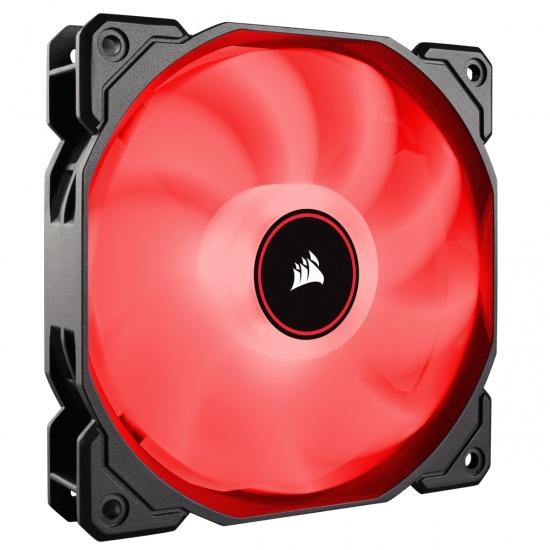 Corsair AF140 Air Series LED 140mm Computer Case Fan - Red Image