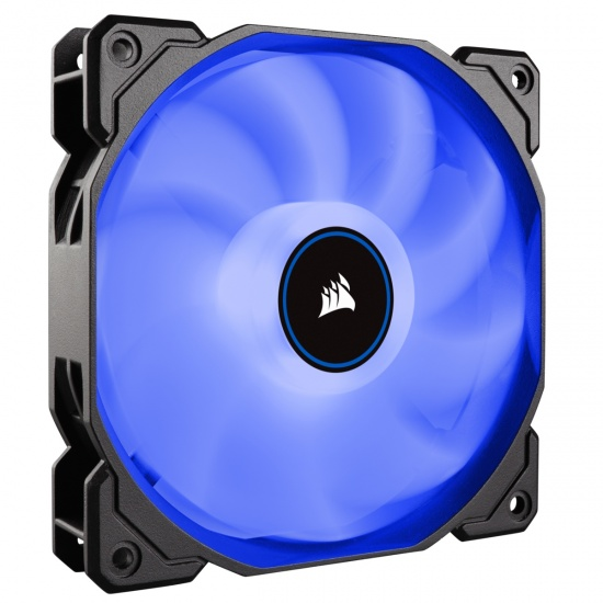 Corsair AF140 Air Series LED 140mm Computer Case Fan - Blue Image
