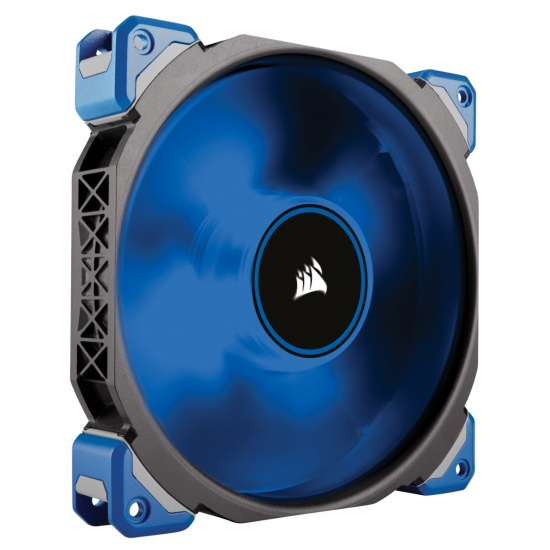 Corsair ML140 Pro PWM LED 140mm Premium Magnetic Levitation Computer Case Fan - Blue Image